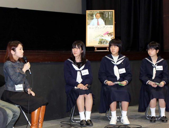 2012.3.24高校生のための映画館@尾道座談会風景2